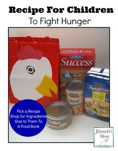 Recipe for Children to Fight Hunger- Help your kids help others by putting together a recipe bag for your food pantry. Little Free Pantry, Food Drive, Religion Activities, Anti Bullying, Thanksgiving Crafts, Girl Scouts, Helping Others, Kids Meals, A Food