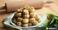 A legegyszerűbb medvehagymás pogácsa recept képpel. Hozzávalók és az elkészítés részletes leírása. Az a legegyszerűbb medvehagymás pogácsa elkészítési ideje: 50 perc Wild Garlic, Biscuit Recipe, Scones, Baked Potato, Biscuits, Almond, Yummy Food, Yummy Recipes, Rolls