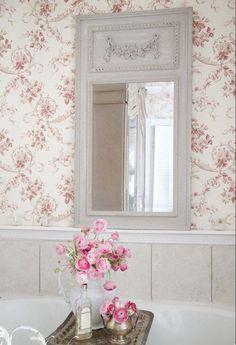 Plus de 1000 id es propos de papier peint entr e sur for Papier peint chambre romantique