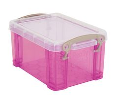 Bought these little boxes at Office Max, 2 for a $1, to store Barbie accessories in.  Perfect!