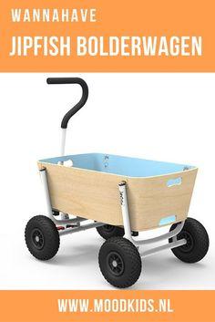Je hebt 3 kinderen, kan geen bolderkar vinden die thuis in je gang past. En je bent zelf ontwerper? In een notendop: de geboorte van de Jipfish bolderkar. Deze Dutch Design opvouwbare bolderwagen is een plaatje om te zien. Lees hier meer.