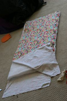 My little baby Clare is off to pre-school this Fall and now she will be all ready with a brand new mommy-made nap mat. But will I be ready? I'm already making up excuses for why she should ma…