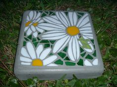 Amongst the Petals Small Handmade Stained Glass by HippMosaics