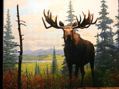 moose, king of the forest Moose Decor, Moose Art, Moose Tattoo, Moose Pictures, Alaska, Magnificent Beasts, Celebrity Drawings, Horse Drawings, Woodland Creatures