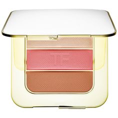 Shop TOM FORD's Soleil Contouring Compact at Sephora. It has blush, highlighter, and bronzer shades in sheer-to-medium, cream-like powder formulas. Best Bronzer, Best Highlighter, Luminous Makeup, Compact, Cheek Makeup, Tom Ford Makeup, Makeup Gift Sets, Everyday Makeup Routine, Cream Eyeshadow