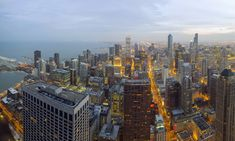 https://flic.kr/p/Fv4PeD   Chicago 360/Hancock Tower Panoramic   9 shots at 20mm for this pano.  Really excited with the results, even shooting through the glass window.