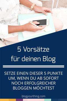 "5 Vorsätze für deinen Blog – oder: Mission ""Besser bloggen"" Marketing Trends, E-mail Marketing, Business Marketing, Internet Marketing, Marketing And Advertising, Social Media Marketing, Website Tools, Content Marketing Tools, Affinity Designer"