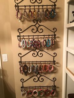 Rustic cuff - storage ideas