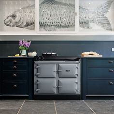 View the new electric AGA 3 Series cast iron range cooker in-store today. Aga Range, Aga Kitchen, Kitchen Projects, House Inspiration, Aga Stove, Plinths, Farmhouse Style Kitchen, Kitchen Styling, Aga Cooker