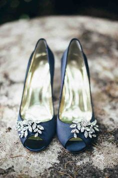 Horizon Blue Wedding Shoes   blue wedding shoes   Pinterest ...