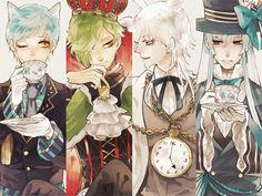 Touken Ranbu | TouRanbu | Ice-Royal-Milk-Tea ( ´ ▽ ` )ノ | Kousetsu Samonji | Tsurumaru Kuninaga | Ichigo Hitofuri | Uguisumaru | rarity swords