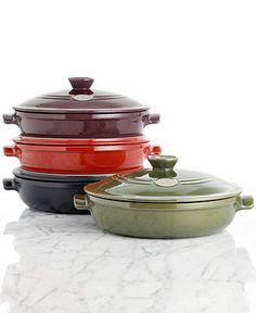 Emile Henry Flame 3.4 Qt. Covered Braiser - Cookware - Kitchen - Macy's