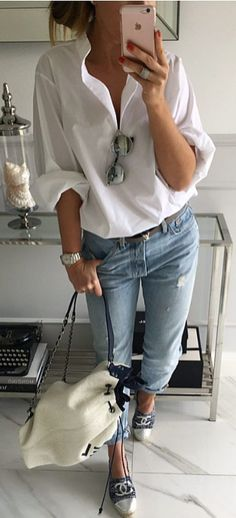 Casual Brunch Outfit Spring Jeans Street Styles 51 Ideas For 2019 Casual Brunch Outfit, Casual Outfits, Look Fashion, Autumn Fashion, Womens Fashion, Fashion News, Fashion Hacks, Fashion Sale, Fashion Outlet