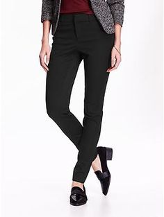 This is the typical style of pants that I wear to work. I like a tapered leg, and full length pants.