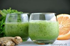 """""""Vitamin C"""" Smoothie Smoothies Verdes, Yummy Smoothies, Vitamin A, Healthy Drinks, Healthy Eating, Healthy Recipes, Coffee Detox, Smoothie Vert, Healthy Fruits And Vegetables"""