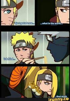 Naruto, funny text