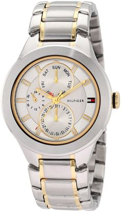 Tommy Hilfiger Men's 1710293 Classic Multi Eye Two tone Watch >>> Learn more by visiting the image link.