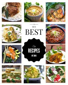 Here are the recipes that were the biggest hits of the year - Panning The Globe's Top Ten Recipes of 2016. Best wishes for a happy, healthy 2017!
