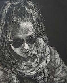 AP art student chosen as a magazine cover.