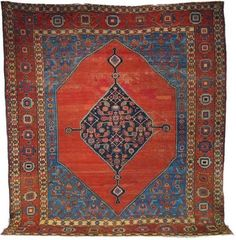 Bakhshayesh, um 1880, 346 x 315 cm, Zustand C/D