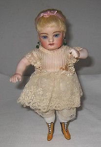 """Stunning Kestner AB All Bisque Wrestler 8 5"""" Tall Doll Bent Arms EXTREMLY RARE   eBay"""
