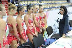 Russian team with Irina Viner