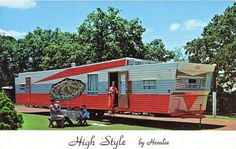 I want a huge trailer to park in my back yard as a guest house.
