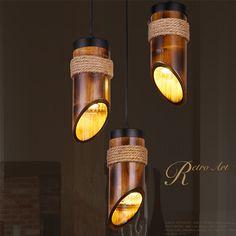 lamparas de bambu - Buscar con Google