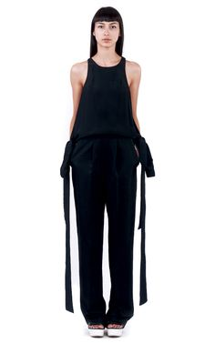 MANTIS JUMPSUIT  FRONT Overalls, Camisole Top, Crew Neck, Jumpsuit, Tank Tops, Spring, Skirts, Sleeves, Dresses