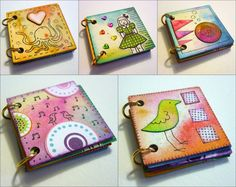 Inchie Book--could be cute for a haiku portfolio, or maybe make it 3x3 and use as a mini paragraph portfolio.