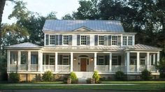 Now here's a Southern classic! Carolina Island House, plan #481