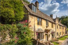 Poster Cottages in den Cotswolds (England)