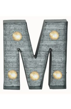 Crystal Art Gallery LED Metal Marquee Letter Light