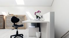 Here's how to design your home office for maximum productivity Home Office, Office Desk, Pr Jobs, Curiosity Box, Clean Machine, World Domination, Job Opening, Design Your Home, Home Buying