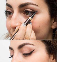 Pour réussir votre oeil de biche, commencez par la fin