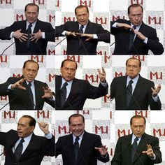 Berlusconi talks textiles, by J.J. Martin.