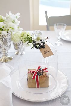 8 creative ideas for Christmas table settings