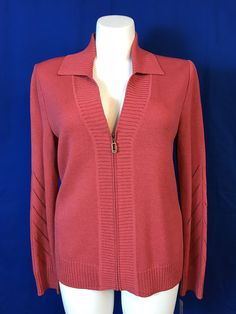 NWT #STJOHN Sport Coral ZipUp Sweater Jacket Sz L – #SophisticatedLadyBoutique      #Sale #dealhunter #hotitems #selinfinity #onlineboutique #onlineshopping #womensclothing #discountsale #salesevent #greatgifts #giftsforher #fashion #buzz #trending     https://sophisticatedladyboutique.us/products/nwt-st-john-sport-coral-zipup-sweater-jacket-sz-l