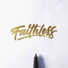 Hand-Lettering by David Milan | Inspiration Grid | Design Inspiration