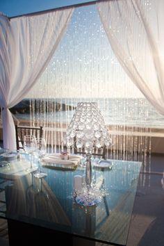 Outdoor Beach Wedding Décor Inspiration!! www.MadamPaloozaEmporium.com www.facebook.com/MadamPalooza