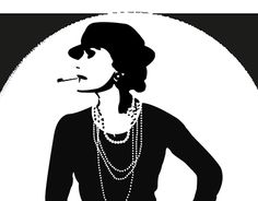 """Check out new work on my @Behance portfolio: """"Coco Chanel"""" http://be.net/gallery/38424093/Coco-Chanel"""