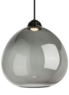 """Bristol by Tech Lighting - 16"""" dia. - Bristol light shades from Tech Lighting offer two distinct sizes of bulb-shaped, hand blown glass combined with the Eros LED pendant as the light source to create unique, sophisticated looks"""