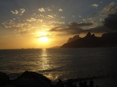 Pôr do sol Arpoador (RJ)