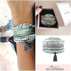 ZOA bracelet ELENI. Jeans, cassual, boho, gift, ZOA moments, bracelets, jewelry.