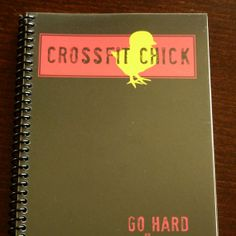 Workout log for Crossfit! Love this!