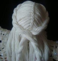 MENTŐÖTLET - kreáció, újrahasznosítás: Horgolt angyal Yarn Wig, Wig Making, Christmas Decorations, Christmas Ornaments, Handicraft, Crochet Projects, Pattern, Crafts, Angels