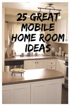 These 25 great mobile home room ideas will give you plenty of ideas for your own. These 25 great mobile home room ideas will give you plenty of ideas for your own home decor or remodel! A style for every taste. Get your inspiration now! Mobile Home Redo, Small Mobile Homes, Mobile Home Repair, Single Wide Mobile Homes, Mobile Home Makeovers, Mobile Home Living, Mobile Home Decorating, Decorating Tips, Kitchen Makeovers