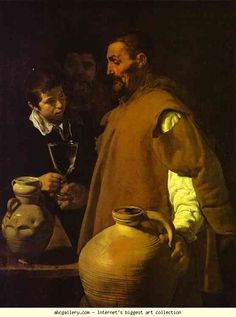 Diego Velázquez. The Waterseller in Seville. Olga's Gallery.