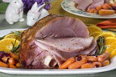 Slow-Cooked Orange Glazed Ham | MrFood.com