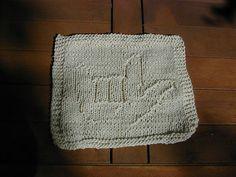 Ravelry: I Love You in Sign Language Dishcloth pattern by Lisa Millan